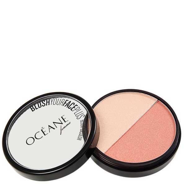 Océane Femme Blush Your Face Coral Peach - Blush em Pó 9,3g