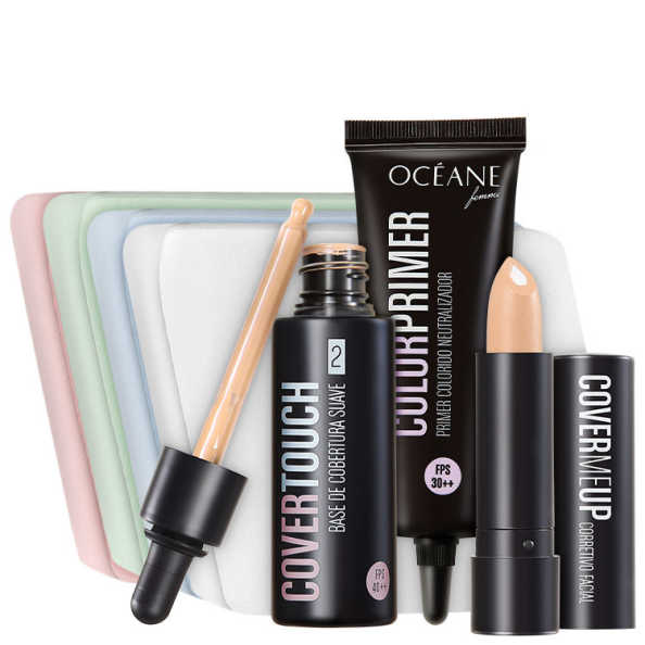 Océane Femme Cover Touch 2 Purple Primer Kit (4 Produtos)