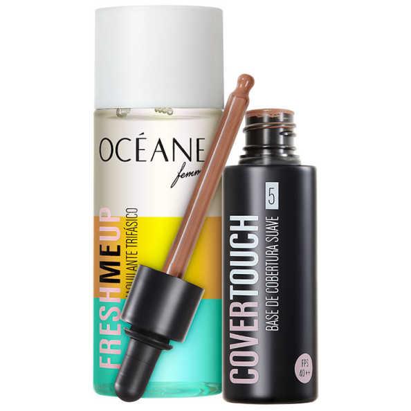 Kit Océane Femme Cover Touch 5 Fresh Me Up (2 produtos)