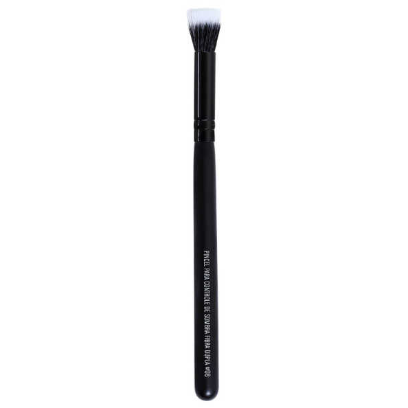 Océane Femme Flat Eyeshadow Brush - Pincel Duo Fiber para Sombra