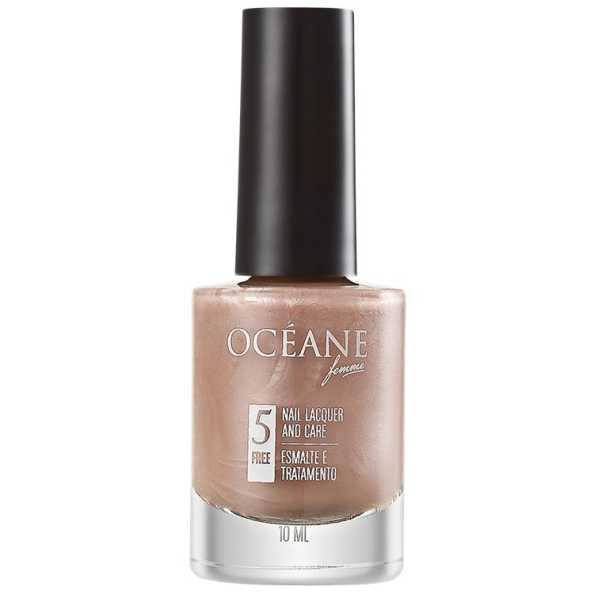 Océane Femme Nail Lacquer And Care Caramel Shell - Esmalte 10ml