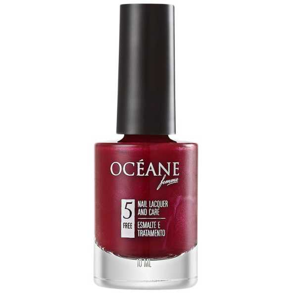 Océane Femme Nail Lacquer And Care Deep Blur - Esmalte 10ml