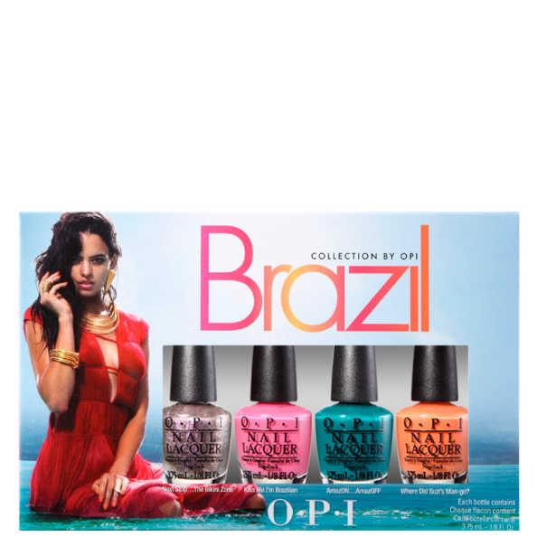 OPI Brazil Collection Copacababies Kit (4 Miniaturas)