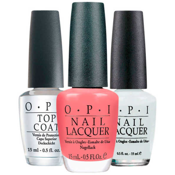 OPI Coat To Bora Bora Snow Kit (3 Produtos)