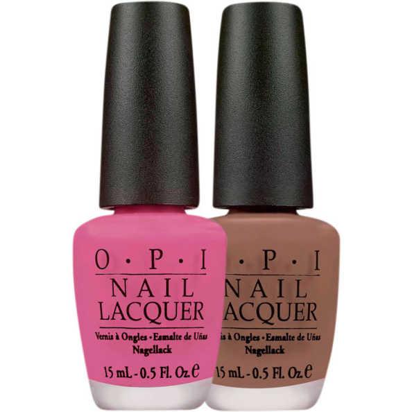 OPI Kit Bright Pair Winter Grape Over (2 Produtos)
