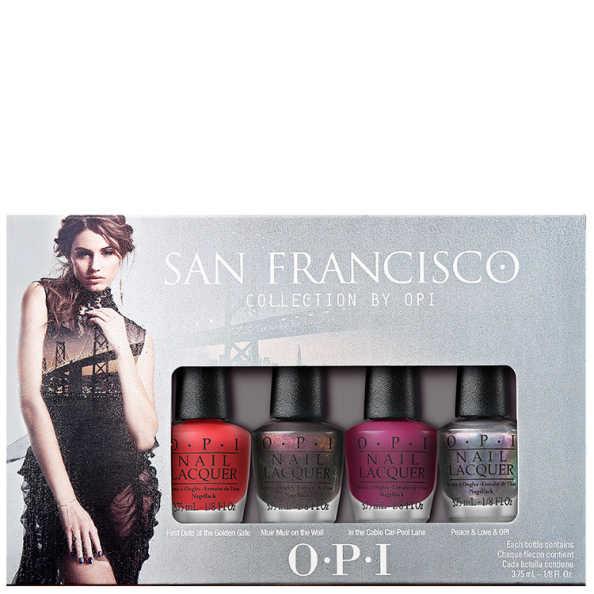 OPI San Francisco Collection Esmaltes Kit (4 Miniaturas)