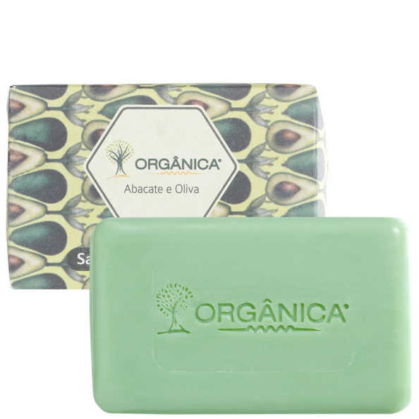 Orgânica Puro Vegetal Abacate & Oliva - Sabonete 90g