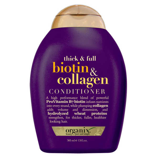 Organix Biotin & Collagen Conditioner - Condicionador 385ml