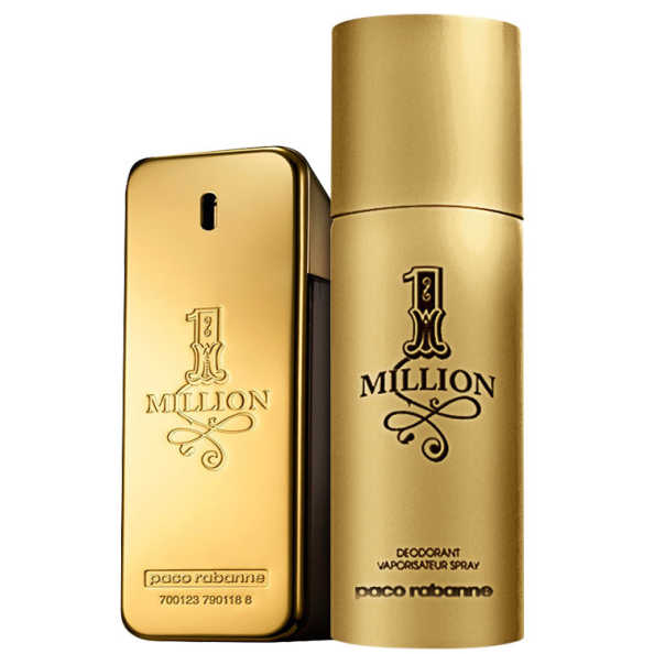 Paco Rabanne Conjunto Masculino 1 Million - Eau de Toilette 50 ml + Desodorante 150 ml