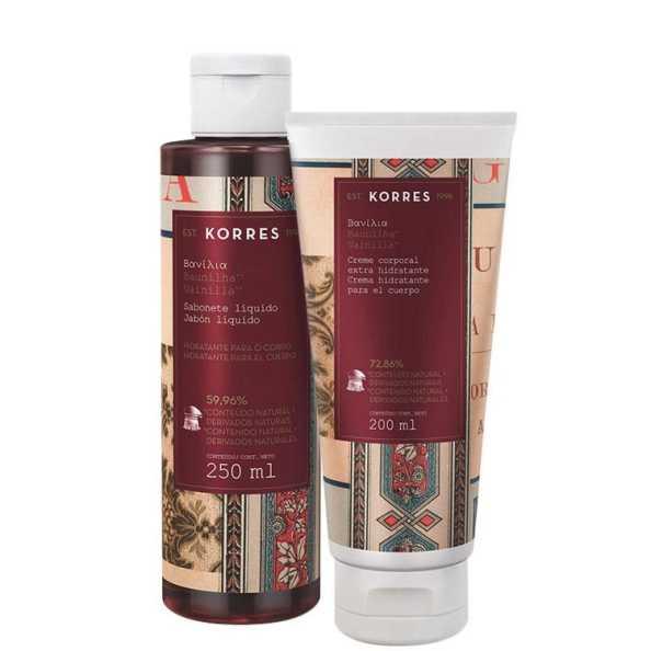 Korres Baunilha - Duo Care Kit (2 Produtos)