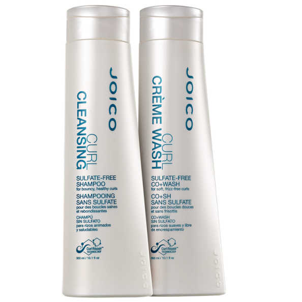 Joico Curl Cleansing Co+Wash Limpeza Kit (2 Produtos)