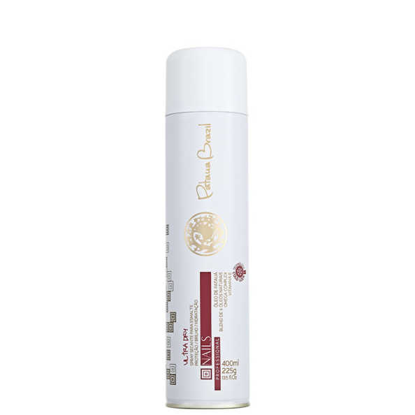 Pataua Brazil Nails Ultra Dry - Spray Secante para Esmaltes 400ml