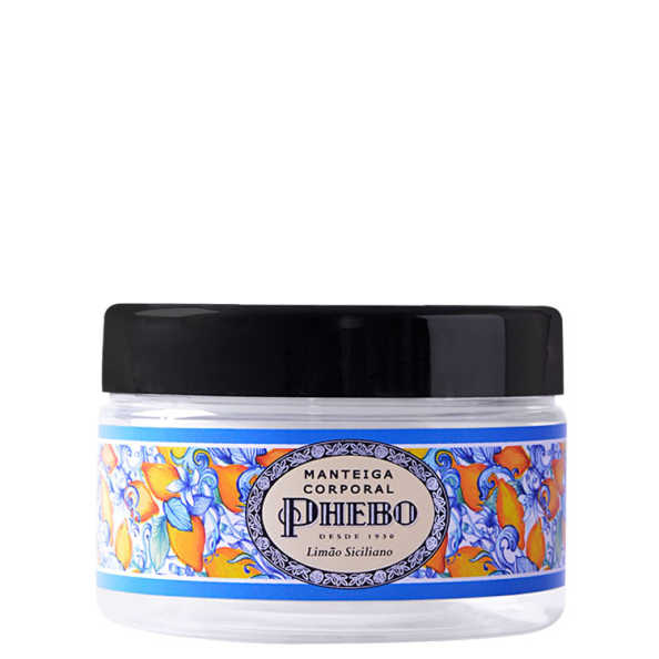 Phebo Mediterrâneo Manteiga Corporal Limão Siciliano - Hidratante 170g