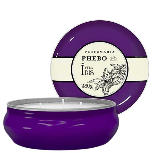 Phebo Perfumaria Águas de Phebo Íris - Vela Perfumada 380g