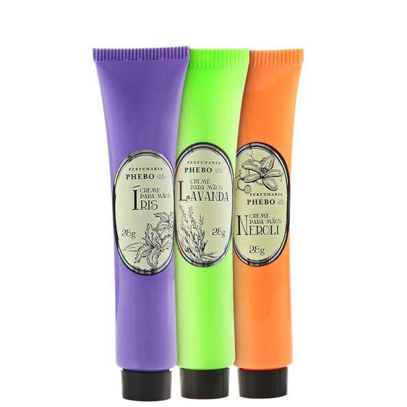 Phebo Perfumaria Águas de Phebo Kit - Creme para Mãos 3x 28g