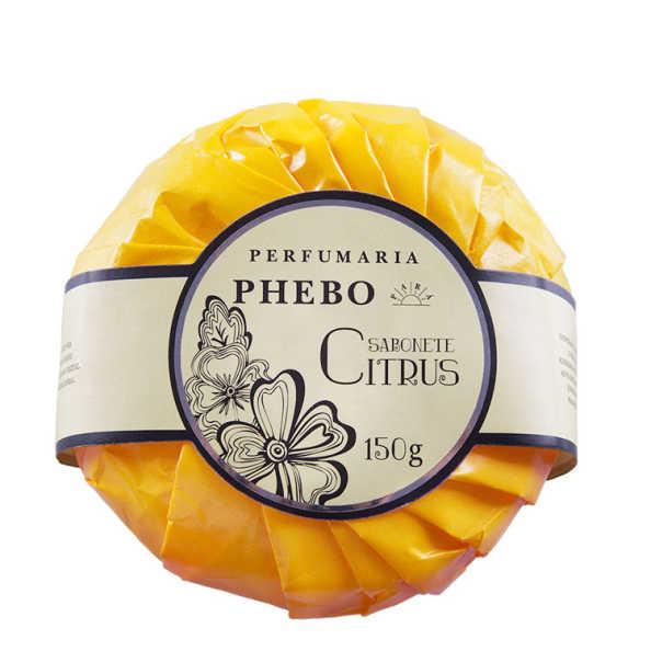 Phebo Perfumaria Citrus - Sabonete em Barra 150g
