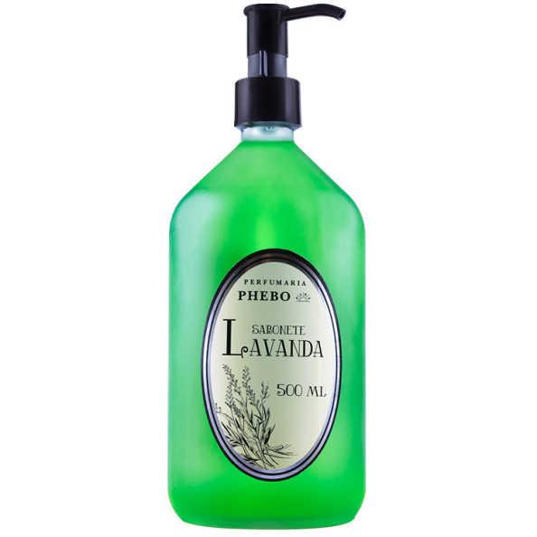 Phebo Perfumaria Lavanda - Sabonete Líquido 500ml