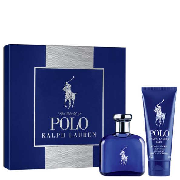 Ralph Lauren Conjunto Masculino Polo Blue - Eau de Toilette 75ml + Gel de Banho 100ml