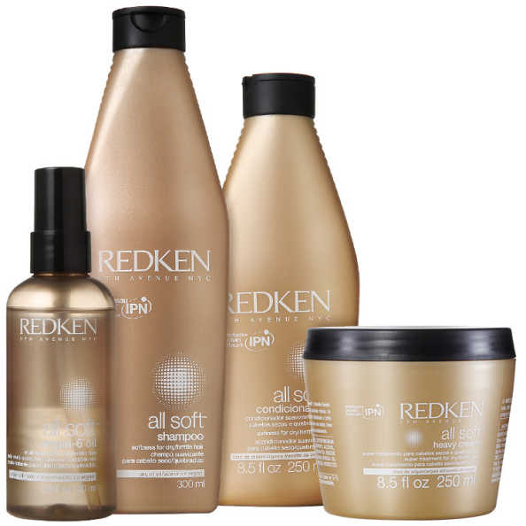 Redken All Soft Heavy Argan-6 Kit (4 Produtos)