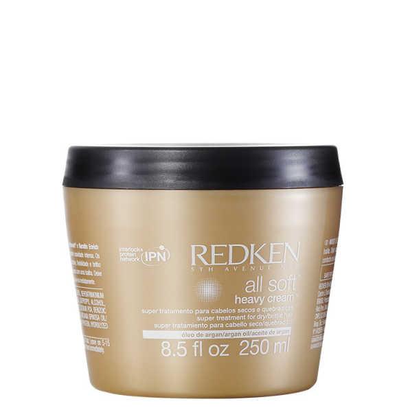 Redken All Soft Heavy Cream - Máscara de Tratamento 250ml