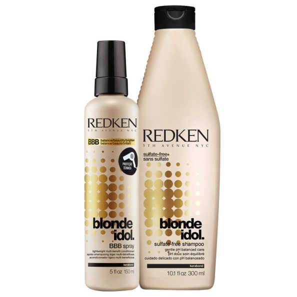 Redken Blonde Idol Conditioning Duo Kit (2 Produtos)