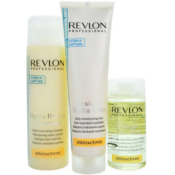 Revlon Professional Hydra Balm Elixir Kit (3 Produtos)
