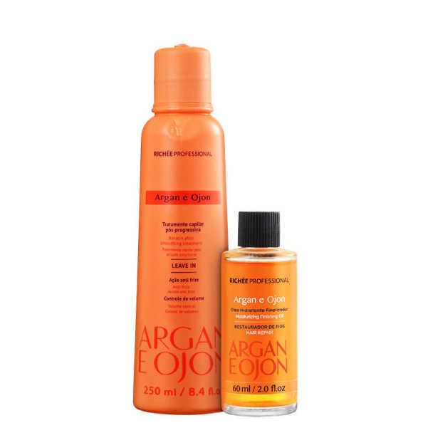 Richée Professional Argan e Ojon Protect Kit (2 Produtos)