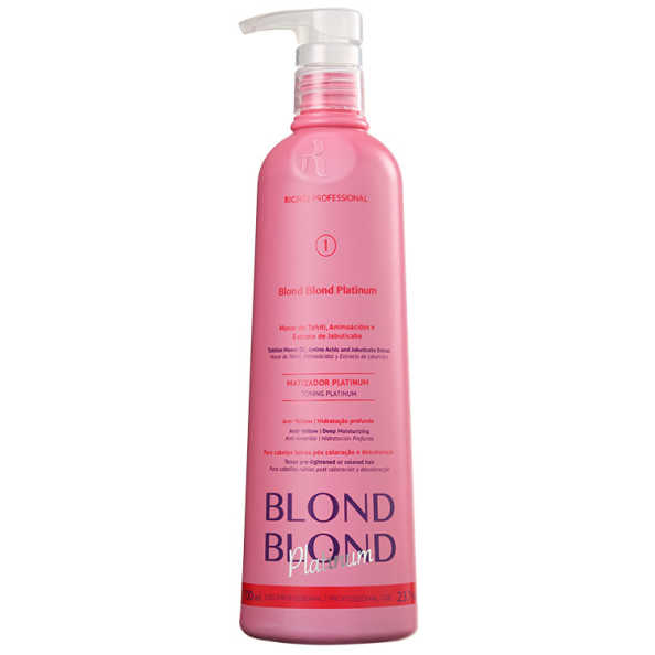 Richée Professional Blond Blond Platinum – Máscara Matizante 700ml
