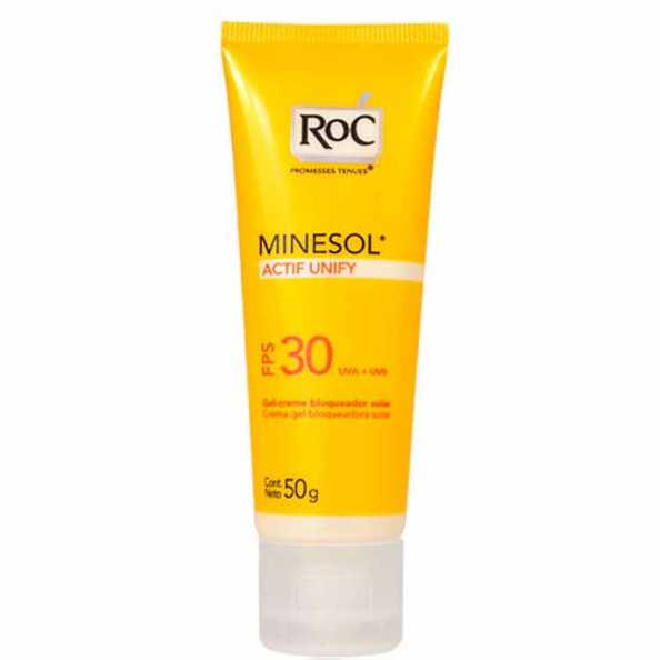RoC Minesol Actif Unify Fps 30 - Protetor Solar 50g