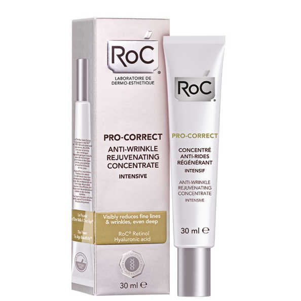 Roc Pro-Correct Anti-Wrinkle Rejuvenating Concentrate Intensive - Creme Facial Anti-idade 30ml