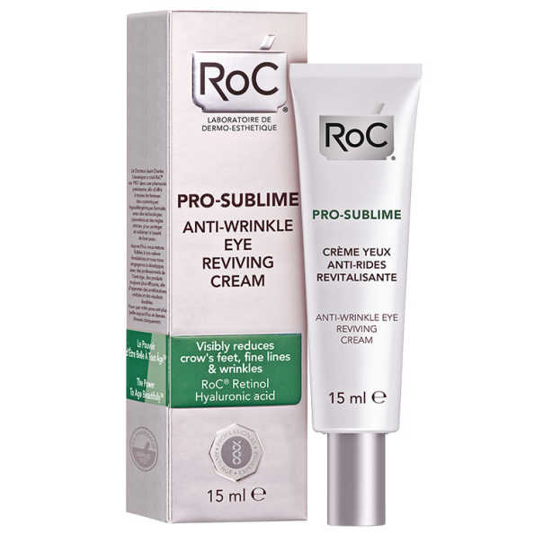 Roc Pro-Sublime Anti-Wrinkle Eye Reviving Cream - Creme para a Área dos Olhos 15ml