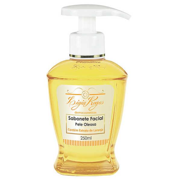 Ligia Kogos Sabonete Facial Pele Oleosa - Sabonete Líquido 250ml