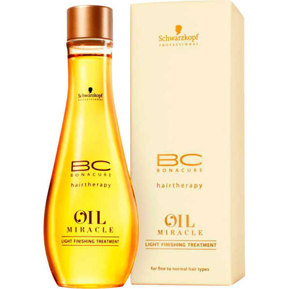 Schwarzkopf Professional BC Bonacure Oil Miracle Light Finishing Treatment - Óleo de Marula 100ml