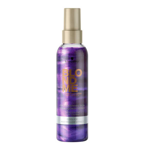 Schwarzkopf Professional Blondme Color Correction Spray Conditioner Cool-Ice - Leave-In Matizador 150ml