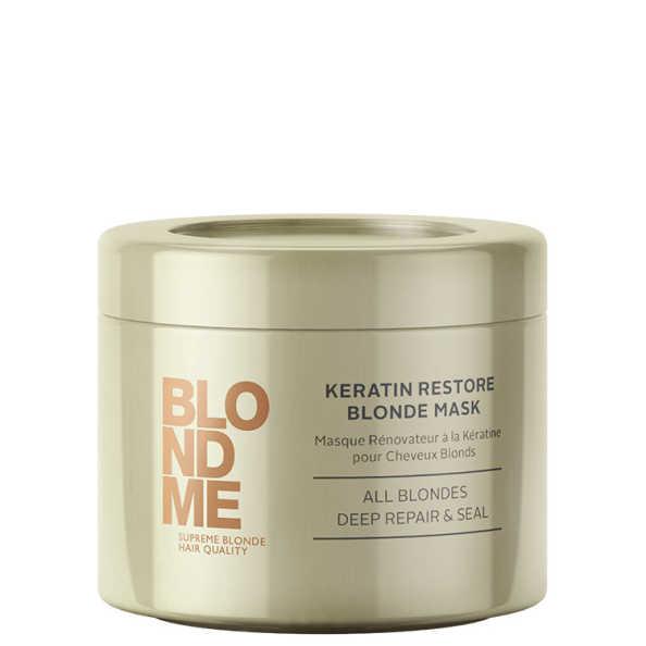 Schwarzkopf Professional Blondme Keratin Restore Blonde Mask All Blondes - Máscara de Tratamento 200ml