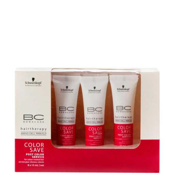 Schwarzkopf Professional BC Bonacure Color Save Post Color Service - Tratamento 8x15ml