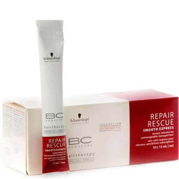 Schwarzkopf Professional BC Bonacure Repair Rescue Smooth Express 10x15ml