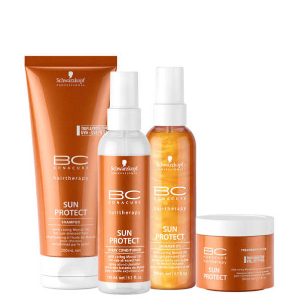 Schwarzkopf Professional BC Bonacure Sun Protect Full Kit (4 Produtos)