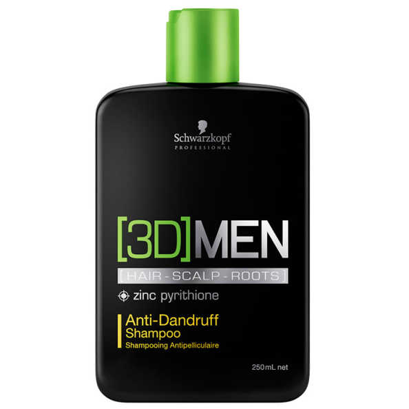 Schwarzkopf Professional 3D Men Anti-Dandruff - Shampoo 250ml
