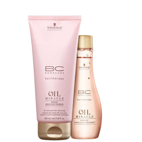 Schwarzkopf Professional BC Bonacure Oil Miracle Rose - Duo Kit (2 Produtos)