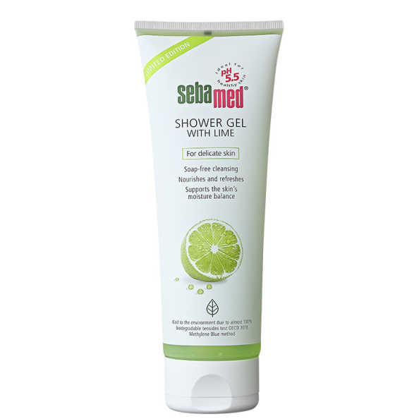 Sebamed Shower Gel With Lime - Sabonete Líquido 250ml