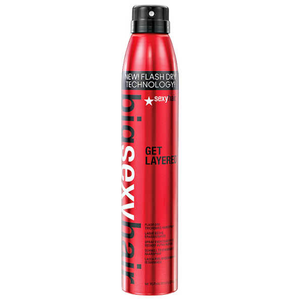 Sexy Hair Big Get Layered - Spray Fixador 275ml