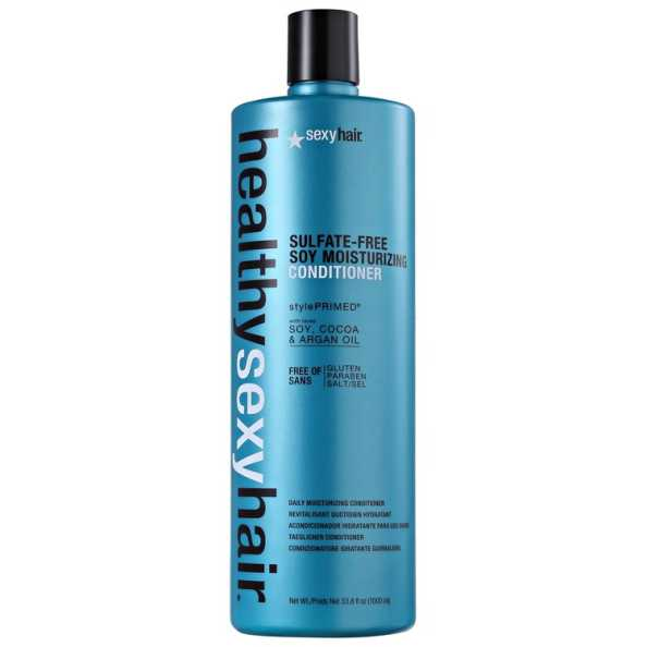 Sexy Hair Healthy Color Safe Soy Moisturizing Conditioner - Condicionador 1000ml
