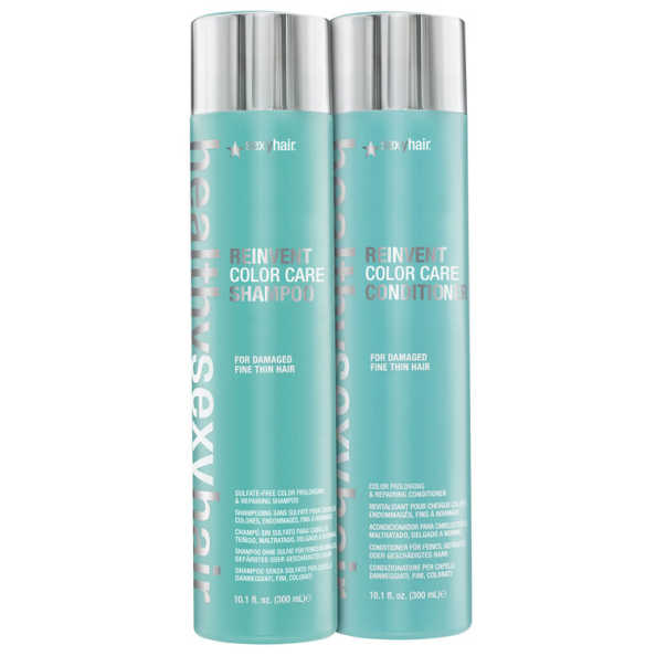 Sexy Hair Healthy Reinvent Color Care Duo Kit (2 Produtos)
