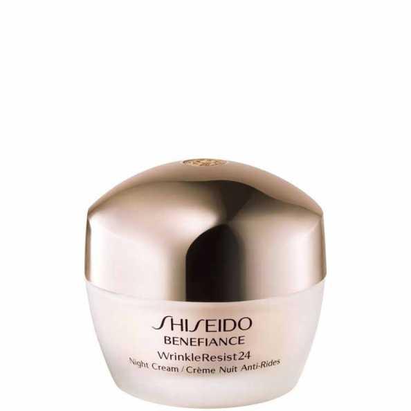 Shiseido Benefiance Wrinkle Resist 24 Night Cream - Creme Noturno Antienvelhecimento 50ml