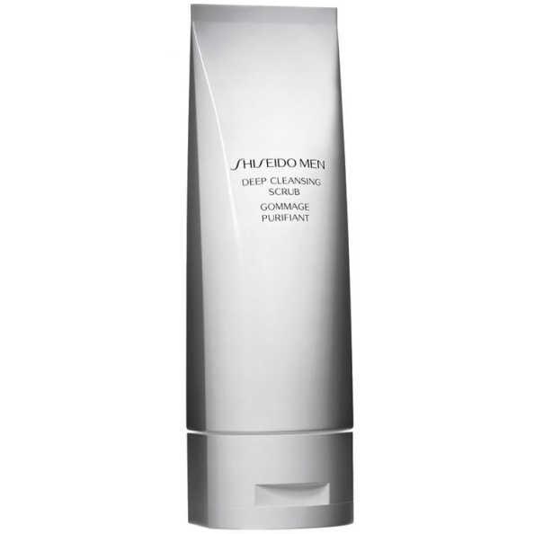 Shiseido Men Deep Cleansing Scrub - Tratamento Esfoliante 125ml