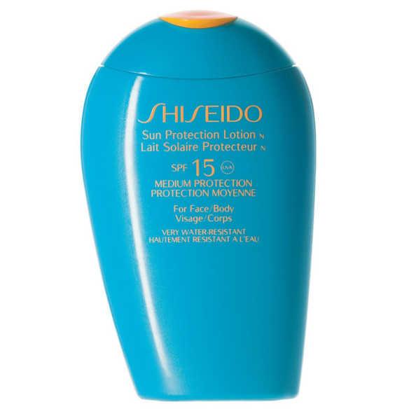 Shiseido Sun Care Sun Protection Lotion N FPS 15 - Protetor Solar em Loção 150ml
