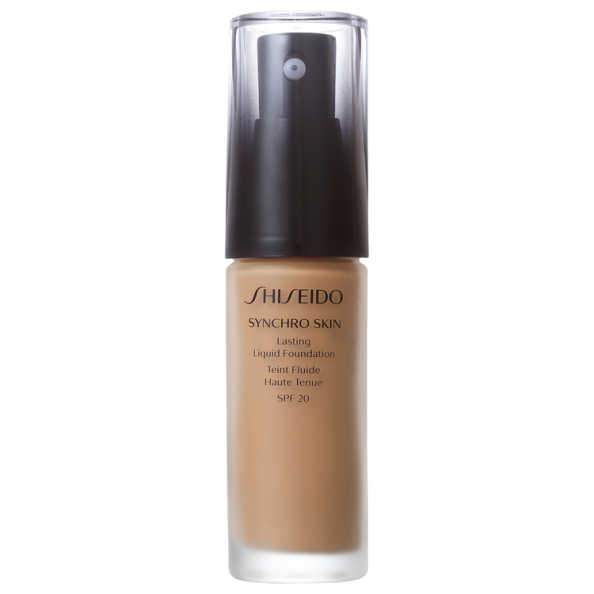 Shiseido Synchro Skin Lasting Liquid Foundation G5 Golden 5 - Base Líquida 30ml