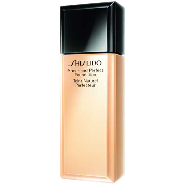 Shiseido Sheer and Perfect Foundation FPS 15 Natural Fair Ivory I40 - Base Líquida 30ml