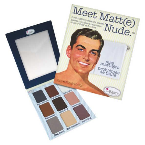 the Balm Meet Matt(E) Nude - Paleta de Sombras Matte 25.5g